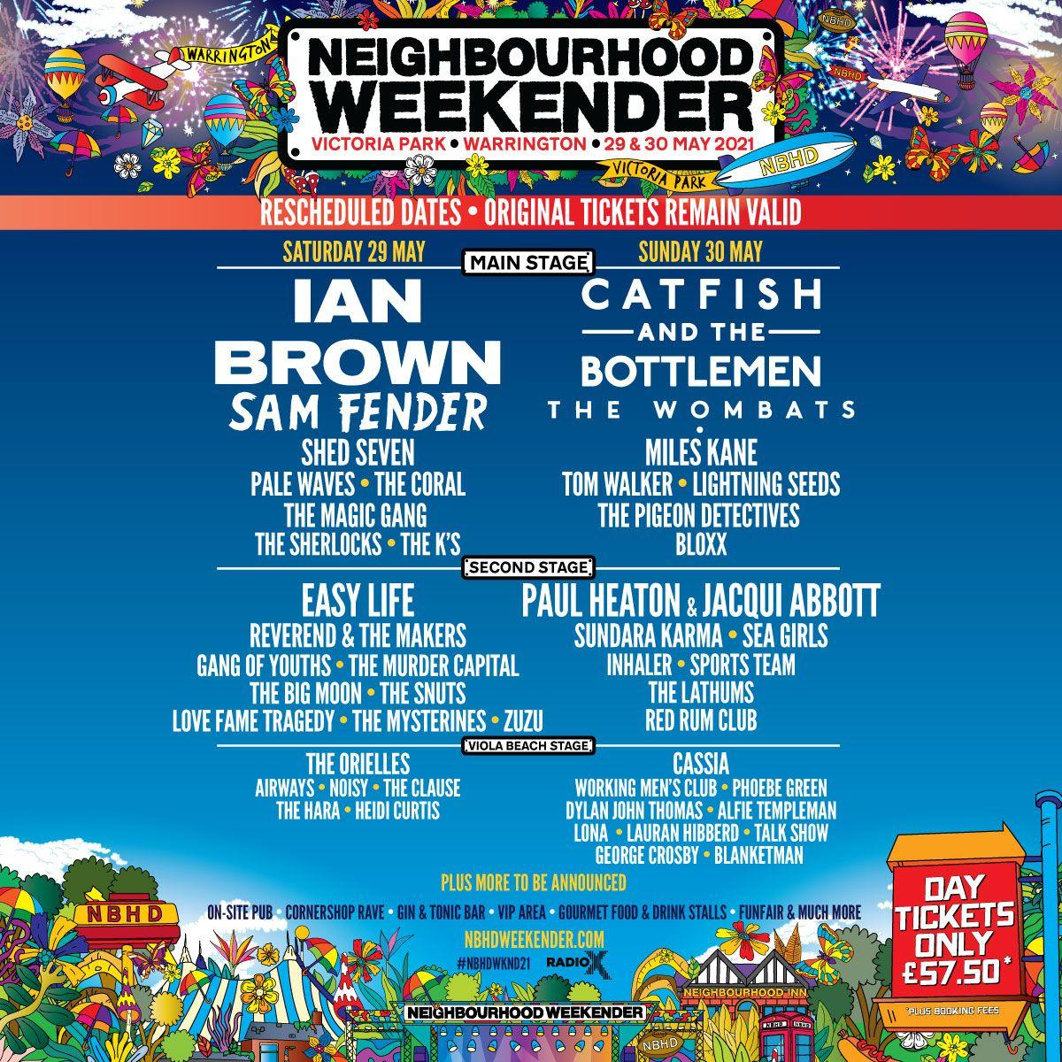 Neighbourhood Weekender - Sunday