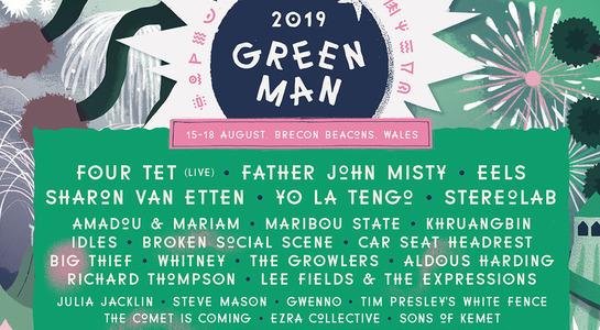Green Man Motorhome Ticket