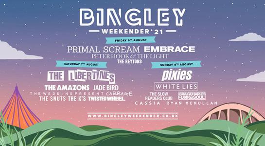 Bingley Weekender 2021 - Weekend Tickets
