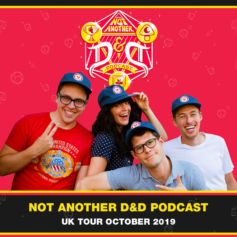 """Naddpod """"Not Another D&D Podcast"""""""