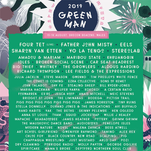 Green Man 2019 Settlers Pass