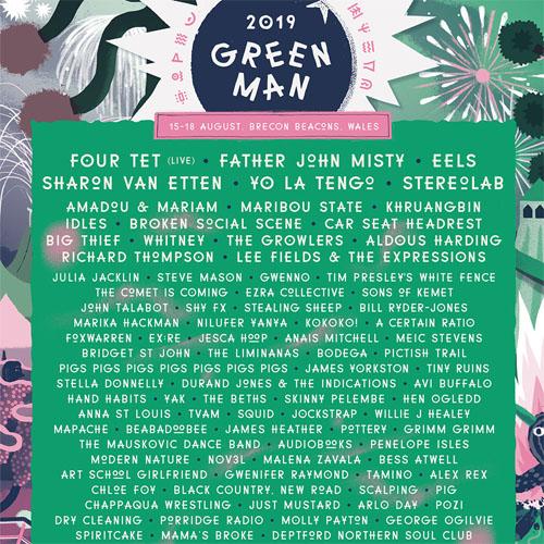 green man 2019 festival